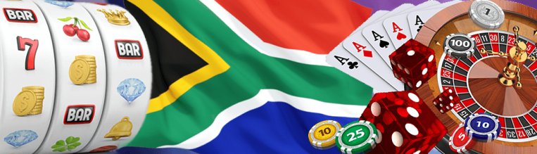 SA Flag and online casino games